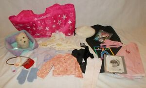 American Girl Pleasant Company Lot of 30 Pieces Clothes & Accessories Tote Bag