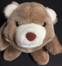 "Vintage 1980 Gund Snuffles Tan Cream 12"" Brown Teddy Bear"