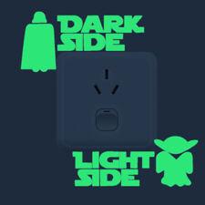 Star Wars Dark Light Side Luminous Switch Vinyl Decal Sticker Fluorescent Room