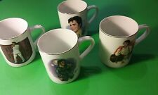 ELVIS PRESLEY Collector's Mugs 50th Anniversary porcelain mugs box set