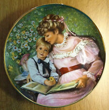 Times Remembered Mothers Day 1986 Sandra Kuck Limited Edition Collector Plate