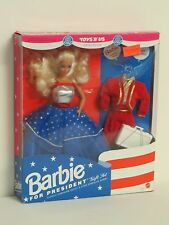 Toys R Us Barbie For President 1991 Gift Set NEW in Box NRFB Mattel #3722 Ltd Ed