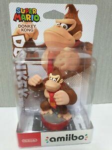 Nintendo Amiibo Super Mario Donkey Kong Figure New / Sealed
