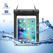 Black Waterproof Pouch Case for iPad Mini 4 /Asus ZenPad 3 8/ Lenovo YOGA Tab3 8