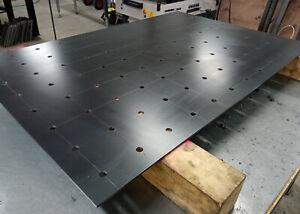 Schweißtischplatte Werkstatt  Schweißzubehör Schweißtisch 1200x800x5 mm.