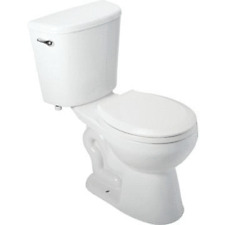 Seasons Raleigh 1.28 GPF All-In-One Toilet-In-A-Box Round ADA Height Bowl