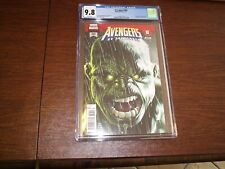 Avengers 684 CGC 9.8. First Immortal Hulk. White Pages.