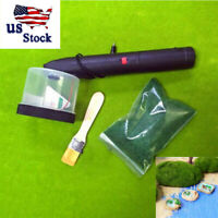 Mini Flocking Machine Static Grass Applicator Scenic Modelling Plant Tool USA