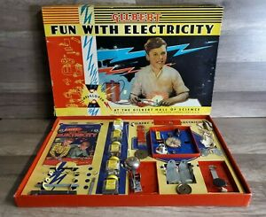 Gilbert Fun With Electricity 1938 Set Gilbert Hall of Science