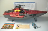 Lot 1985 GI Joe Cobra Moray Hydrofoil Blueprints Lampreys Figure File Card Set