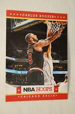 NBA CARD - Panini - NBA Hoops - Carlos Boozer - Chicago Bulls.