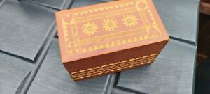 Playing Card Wooden Box