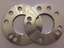 2 X 5mm ALLOY WHEEL 63.4 HUB CENTRIC SPACERS FITS FORD 4 & 5 STUD MODELS
