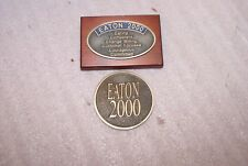 (2) Eaton 2000 Employee Paperweights T. Eaton Co.