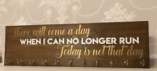 Personalised Medal Holder Hanger 'There Will Come A Day' Any Quote 22""