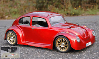 VW Käfer RC Karosse 1:10 - 185mm Lexan f. Carson Tamiya Reely HPI Kyosho # 1001