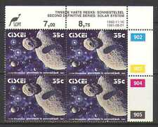 Ciskei 1992 SPACE/Planets 35c control blk rprt (n20160)