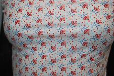Modal Spandex Jersey Knit Fabric 7.5 Oz silky 4 ways stretch Cute small flowers