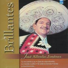 Jose Alfredo Jimenez CD NEW Brillantes ALBUM Versiones Originales 20 Canciones