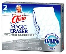 Mr. Clean 6 Pack, Magic Eraser Kitchen Scrubber w Dawn