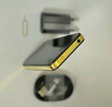 Luxus Apple iPhone 4s 16GB Gold Schwarz VIP