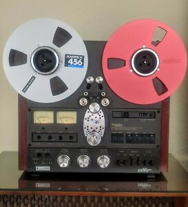 TECHNICS RS 1506 4-TRACK REEL TAPE RECORDER, ALL ORIGINAL, PRISTINE