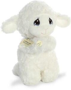 "Aurora - Precious Moments - 10"" Luffie Praying Lamb - English"