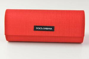 NEW Dolce&Gabbana Case Red Sunglasses/Eyeglasses D&G Magnetic Closure