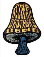 Allman Brothers Mushroom Embroidered Patch A016P Government Mule Skynrd