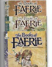 The Books of Faerie #1-3 // complete Vertigo mini-series