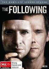 The Following : Season 2 (DVD, 2015, 4-Disc Set)