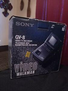 Sony GV-8 Video Walkman 8mm TV Recorder in Original Box