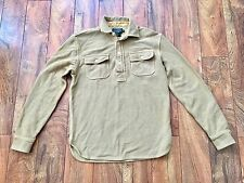 Ralph Lauren Polo Country Long Sleeve Wool Cotton Shirt Super Cool Size Medium