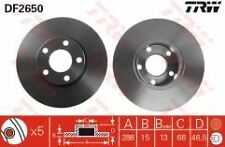 Audi A6  95-97 Front Brake Disc's 280mm Solid