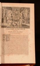 History & Military Antiquarian & Collectable Books in Latin 1700-1799 Year Printed