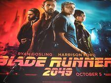 UK Original Movie Quod Posters  BLADE RUNNER 2049  (2017)