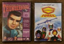 Vintage Kid's TV DVD Lot The Best Of G Force & Gerry Anderson's Thunderbirds V10