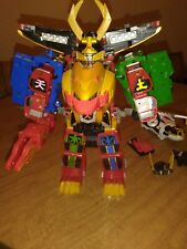 power rangers super megaforce legendary megazord and tiger Japanese Version!