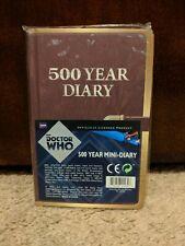 Dr. Who 500 Year Mini Journal BBC Sealed NIB
