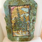 """Jeanne Dana Signed Dated Bronze Wall Sculpture 16"""" by 11"""""""