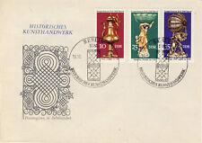 Ersttagsbrief DDR MiNr. 2171, 2173, 2174, Historisches Kunsthandwerk