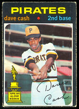 1971 TOPPS OPC O PEE CHEE BASEBALL #582 DAVE CASH VG-EX PITTSBURGH PIRATES RC AS