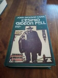 L'ESIMIO GIDEON FELL John Dickson Carr OMNIBUS MONDADORI PRIMA EDIZIONE 1988