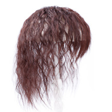 Real Human Hair Mid-length Curly Hairpiece/Toupee/Wig/Reissue Piece Lace Base