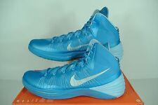 "New Mens 18 NIKE ""Hyperdunk 2013 TB"" University UNC Blue High Top Shoes $140"