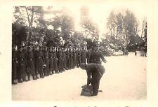 Orig. Foto Soldten Artillerie-Regiment 40 beim Postausgabe Hunsrück