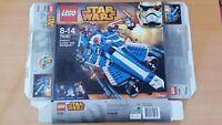 75087 Star Wars Anakin's Custom Jedi Starfighter Lego EMPTY BOX No Lego