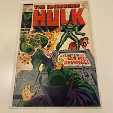 New listing The Incredible Hulk #114 Mid Grade Marvel Comic See Pictures