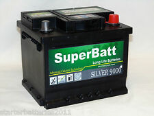 PEUGEOT, CITROEN, DACIA, HYUNDAI, MAZDA Car Battery TYPE 063 - SuperBatt 063