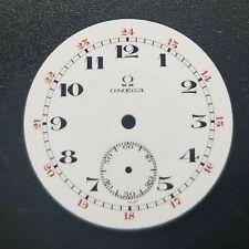 Omega Porcelain Dial 28.02mm 3-0s (361)